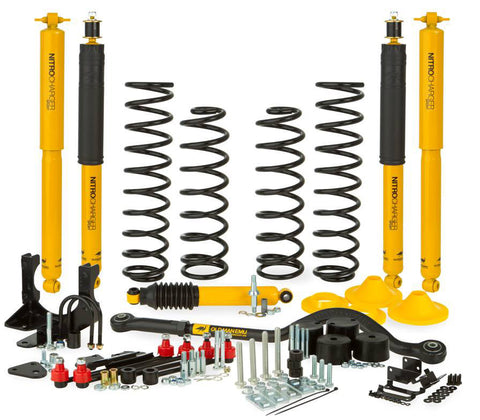 "OME 4"" SUSPENSION LIFT KIT WRANGLER 07-18"