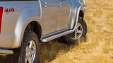 ARB Side Rails and Protection Steps ISUZU DMAX