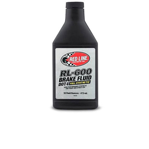 REDLINE RL-600 BRAKE FLUID DOT-4