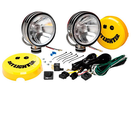 "KC-Hilites 6"" Daylighter Halogen Lights (Pair)"