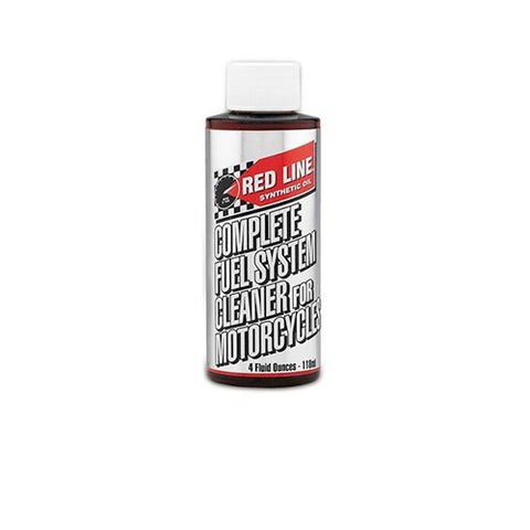REDLINE FUEL SYSTEM CLEANER FOR MOTORCYCLES