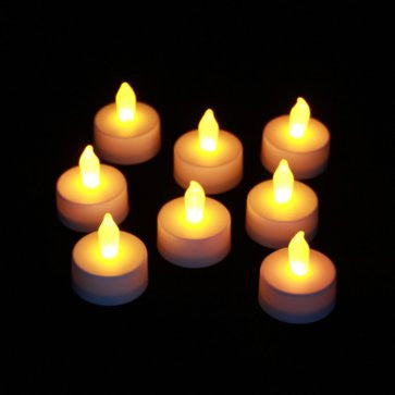 8 pack Candle Impressions Inglow battery tealights illuminated