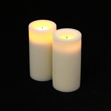 Candle Impressions 3'' Wax Covered Votives (2 Pack) illuminated