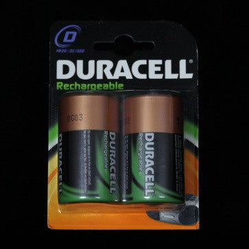 Duracell D Rechargeable Batteries (2 Pack)