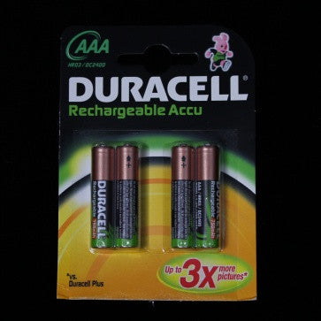 Duracell AAA Rechargeable Batteries (4 Pack)