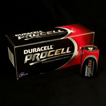 Duracell D Procell Batteries (10 Pack)