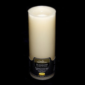 Candle Impressions Vanilla Scented with 5 Hour Timer, Ivory