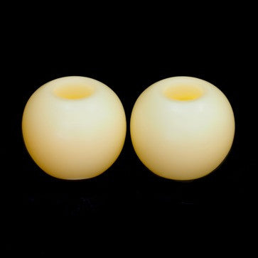 candle impressions mini spheres battery candles cream (2 pack) illuminated