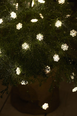 Snowflake LED String, 40 LEDs, 3.9m