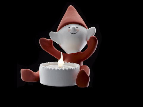 Happy Elf Tealight