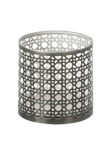 Rustic Lattice Tealight Holder