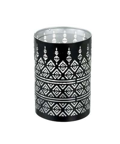 Pierced Candle Holder - Contemporary Diamonds (Small)