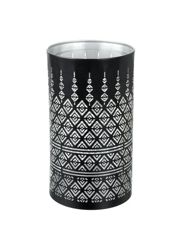 Pierced Candle Holder - Contemporary Diamonds (Medium)