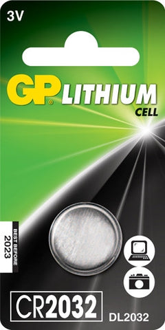 GP CR2032 Battery (Single)