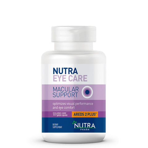 NUTRA PHARM MACULAR SUPPORT 120 CAPSULES
