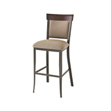 Eleanor non swivel stool (solid wood accent)