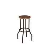 Claw Non swivel stool (wood)