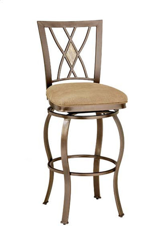 Brookside Diamond Back Swivel Barstool