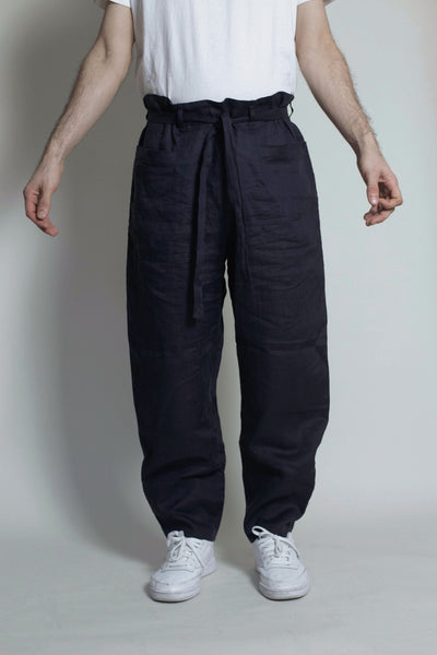 Naked Trouser : Navy - Vincetta