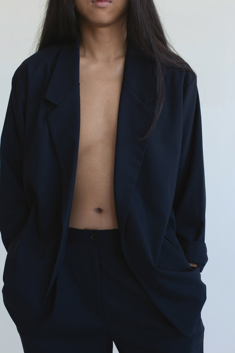 Notch Jacket : Navy (XS/S + XL)