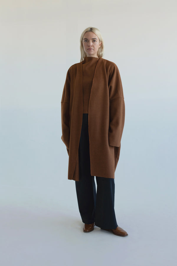 Cocoon Coat : Sienna (SOLD OUT)