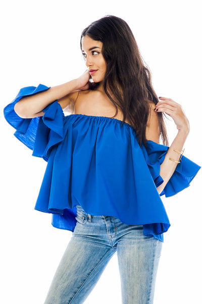 Blue Isabella Top