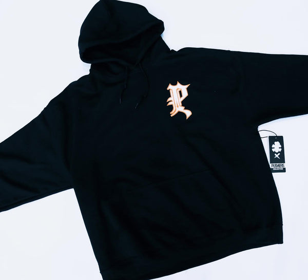 Pushers Collective Old English Hoodie