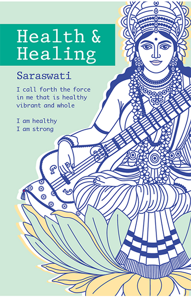 Saraswati Healing <br>Intention Cards