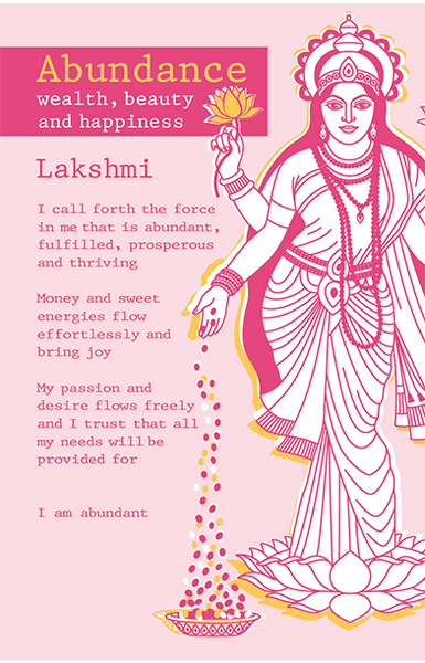 Lakshmi Abundance <br>Intention Cards