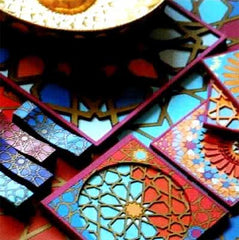 MOUCHARABIEH COASTERS BY IMAGES D'ORIENT