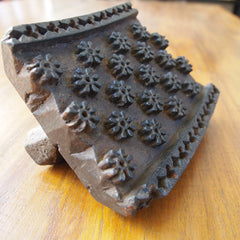 EXTRA LARGE INDIAN WOODEN PRINT BLOCK