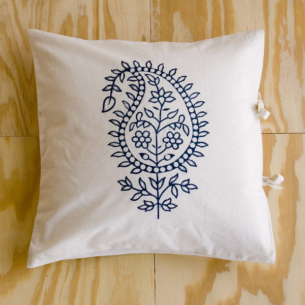 ORGANIC SMALL DECO PILLOW COVER - MADELINE