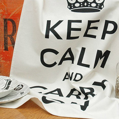 KEEP CALM TEA TOWEL