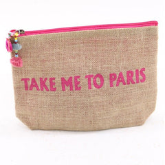 TAKE ME TO PARIS CLUTCH