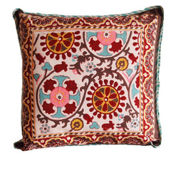 BLOCKPRINT SUZANI CUSHIONS AND THROWS