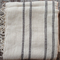 ETHIOPIAN BEACH TOWEL/WRAP - DOTS