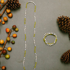 """31 BITS"" ELASTICITY NECKLACE/BRACELET"