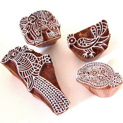 INDIAN WOODEN PRINT BLOCKS