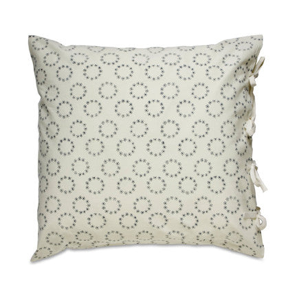 ORGANIC SMALL DECO PILLOW COVER - GENEVIEVE