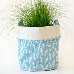 ROSEMARY CANVAS BUCKETS IN BLUE
