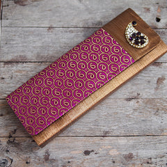 PAISLEY CLUTCH FROM INDIA