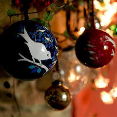 EVA HAND-PAINTED BAUBLES