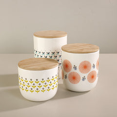 PORCELAIN CANISTERS FROM FRANCE