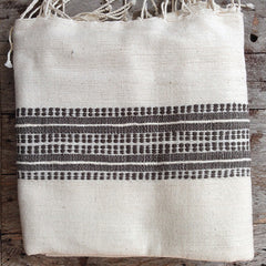 ETHIOPIAN BEACH TOWEL/WRAP - STRIPE