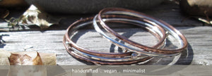 mixed metal bangles - aymcollections