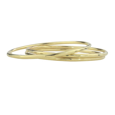Brass Bangle Bracelets - aymcollections