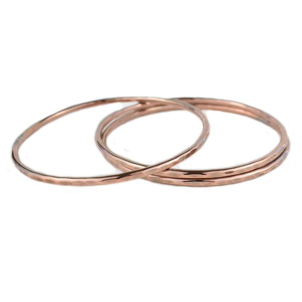 Copper Bangle Bracelets - aymcollections