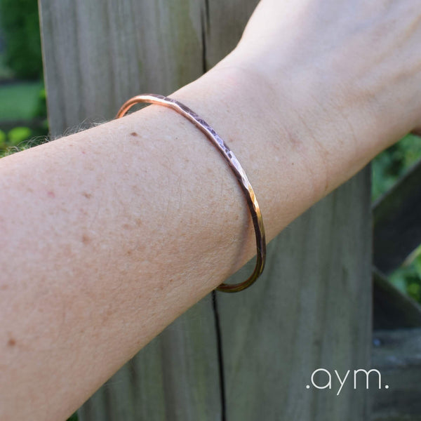 Copper Cuff Bracelet - aymcollections