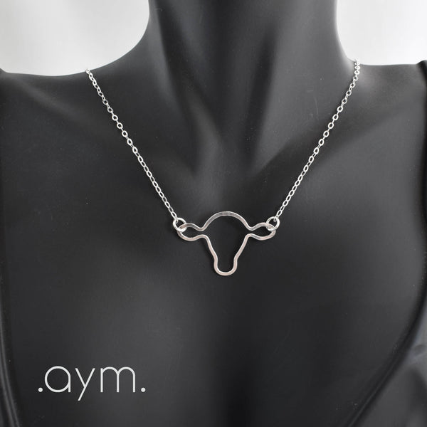 Cow's Head Necklace - aymcollections