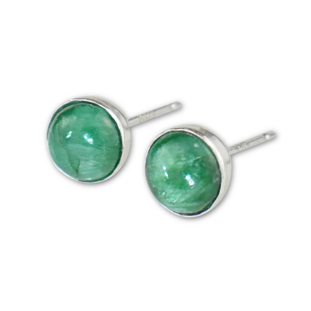 Emerald Stud Earrings - aymcollections